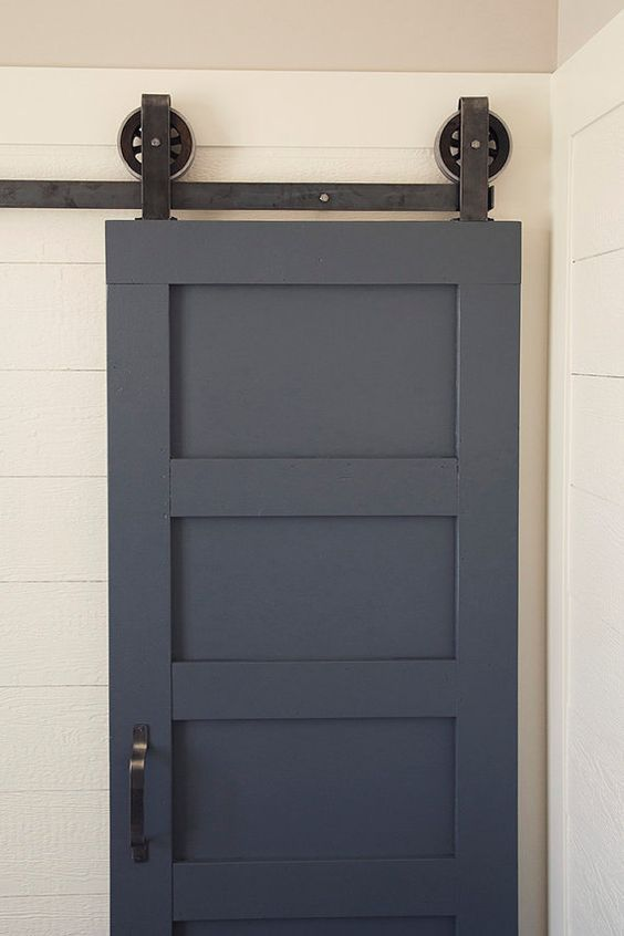double door sliding barn door hardware by