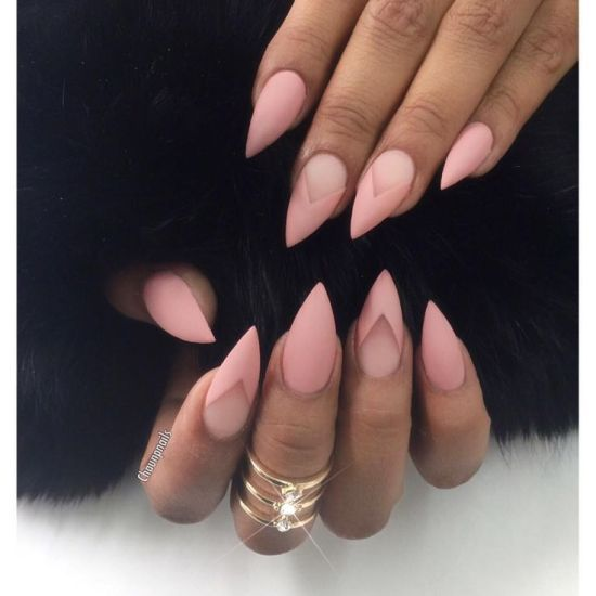 The Most Popular Nail Shapes For Spring 2020 Kynsimallit Pinkit