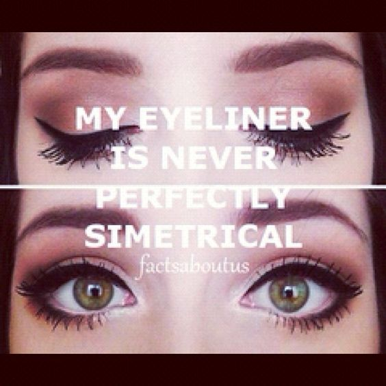 symmetrical! #eyes #eyeliner #liquideyeliner #eyeshadow #makeup