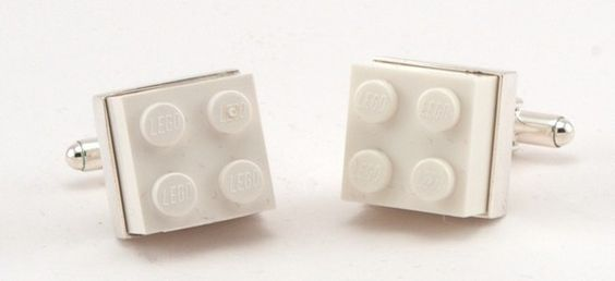 Love these Lego Cufflinks - and great price at $40.
