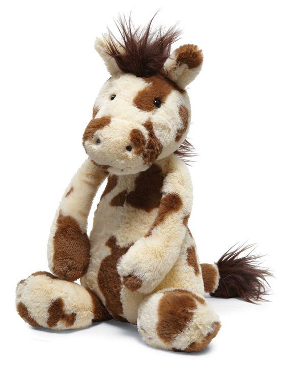 "Jellycat Bashful Pinto Pony Medium 12"""""