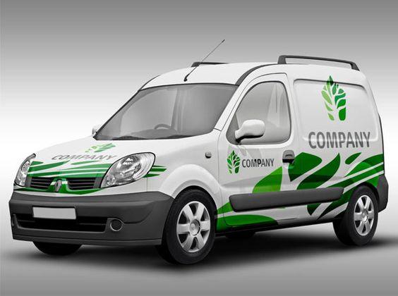 Gemgfx Vehicle Branding Mockup Free Download On Behance