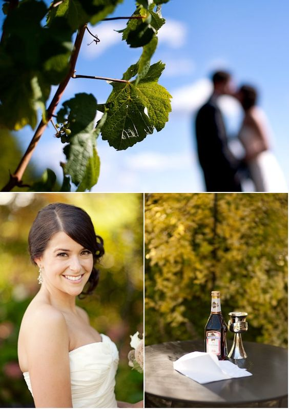 Portland Vineyard Wedding from Blush Bridal Consultation Group | Style Me Pretty