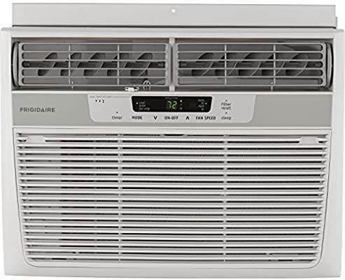 Amazon Com Frigidaire Ffra1022r1 10000 Btu 115 Volt Window Mounted Compact Air Condit Quiet Window Air Conditioner Room Air Conditioner Window Air Conditioner