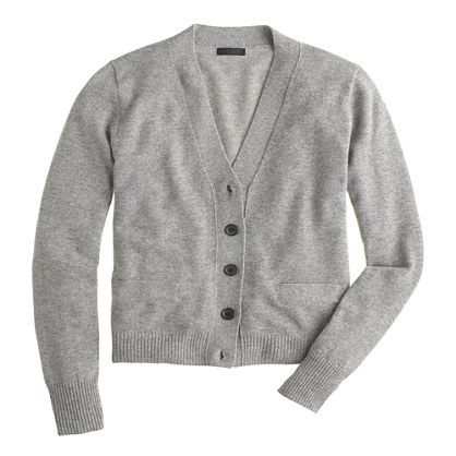 J.Crew+-+Collection+cashmere+V-neck+cardigan+sweater