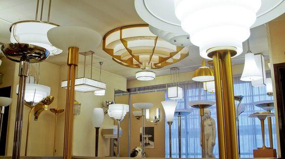 Ateliers Jean Perzel  luminaires - Paris 14th arrondisement for a real taste of art deco creativity