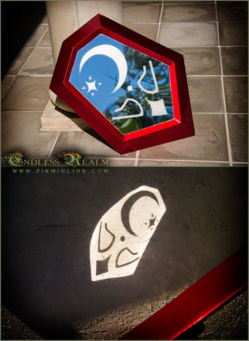 Mirror Shield from Zelda Ocarina of Time by pikminlink
