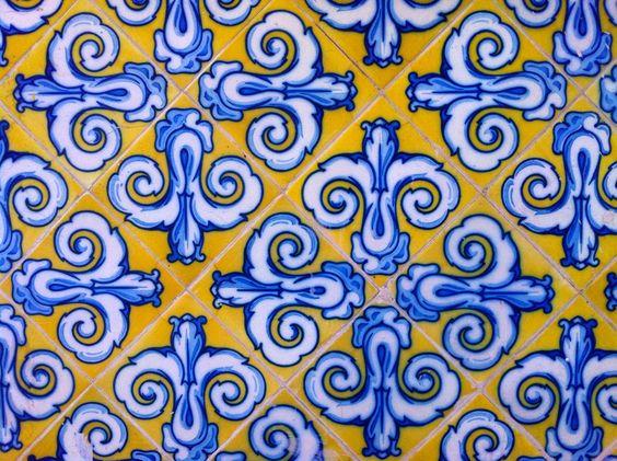 A beautiful #pattern found in #valencia.