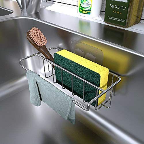 Kitchen Sink Caddy Sponge Holder 59 Ideas Kitchen Sink Caddy Sink Caddy Kitchen Gadgets