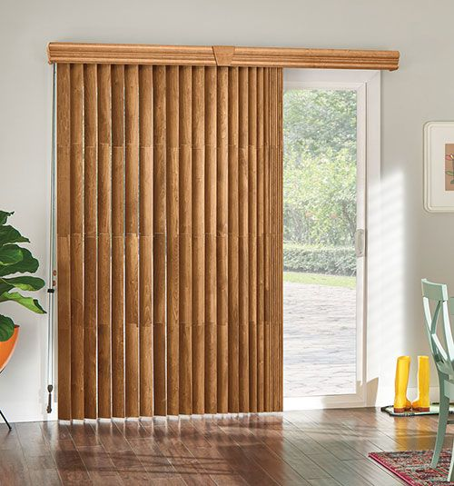 Bali Northern Heights Wood Vertical Blinds Vertical Blinds Makeover Sliding Door Blinds Blinds For Windows