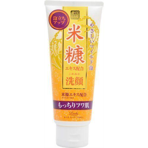 COSMETEX ROLAND Loshi Facial Cleansing Foam Rice Bran