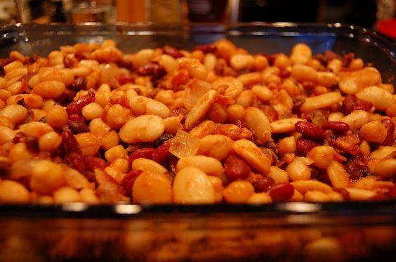 my fav recipe for calico beans!  LADY GOUDA: Calico Beans