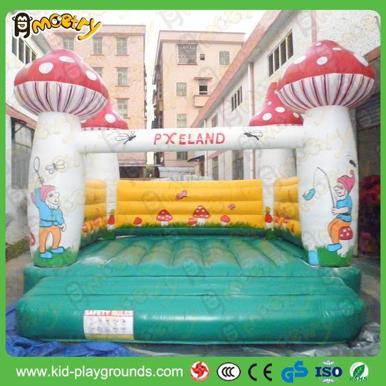 mushroom Inflatable Jumper House