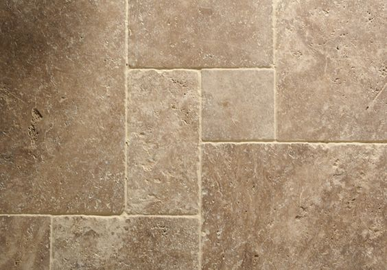 Travertine flooring noce travertine floors of stone for Best grout color for travertine tile