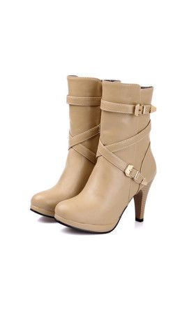 Winter Boots Individual Cross Lacing Shoes Online