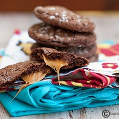 Rolo Cake Cookies