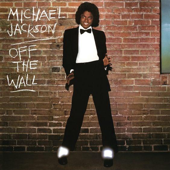 Michael Jackson – Off the Wall (single cover art)