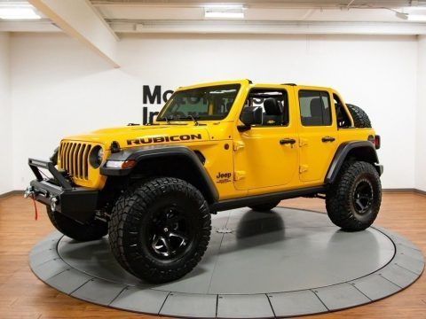 2018 Jeep Wrangler Jl Unlimited Rubicon Ozark Mountain Edition For