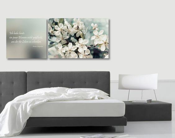 Eine besonders harmonische Kombination zeigt das exklusive Doppelpack von cuadros lifestyle: Angesagte Bildmotive in unterschiedlichen Varianten verzieren eines der beiden Bilder. Ergänzt wird das stylische Design durch das zweite Bild mit einem sinnlichen Spruch. Farbige und anregende Akzente die eine hervorragende Dekoration für jeden Raum darstellen.