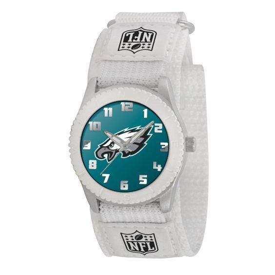 Philadelphia Eagles NFL Kids Rookie Series Watch (White)