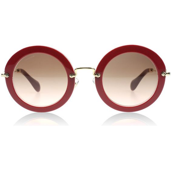 Cyclamen Glitter DHH1E2 (¥31,080) ❤ liked on Polyvore featuring accessories, eyewear, sunglasses, glasses, glitter sunglasses and glitter glasses