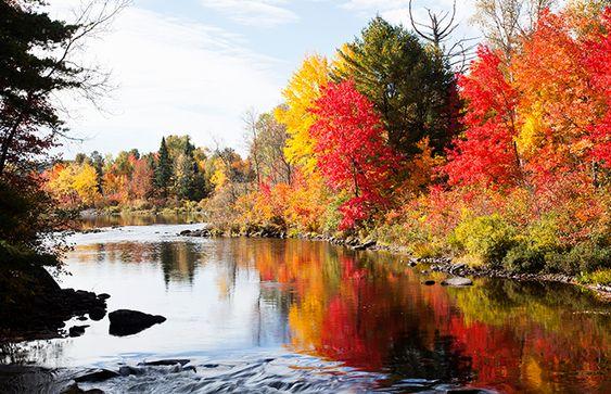 ontario canada - von ende september bis oktober