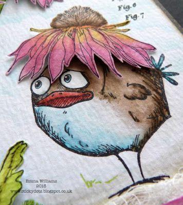 That's Life: Bird Crazy ~ Simon Says Stamp Monday Challenge