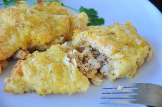 Chicken-Crescent Roll Casserole