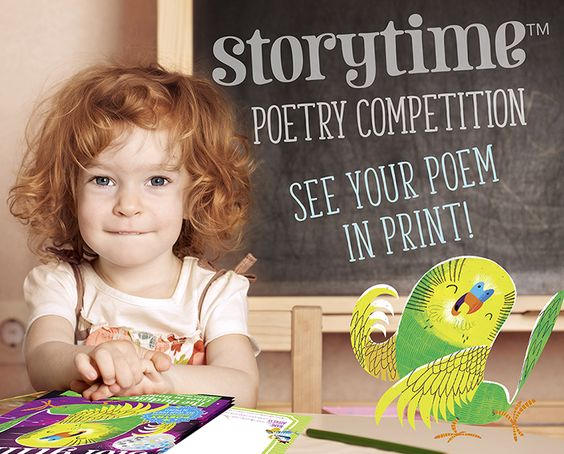 Kids! Get top tips for writing poetry and enter our anniversary poetry competition - you might get your poem in print! http://www.storytimemagazine.com/news/making-storytime/childrens-poetry-competition/