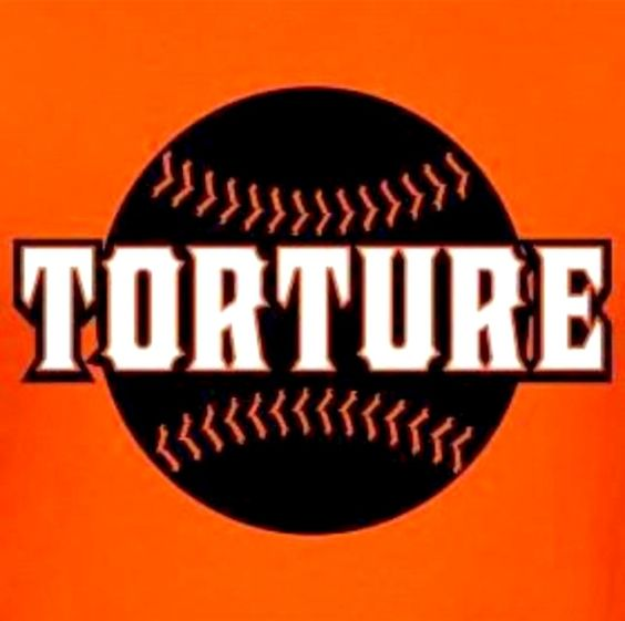 San Francisco Giant's baseball is torture...