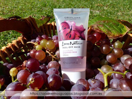 A Ponernos Guapas: Mi experiencia con la mascarilla peel off de uva d...
