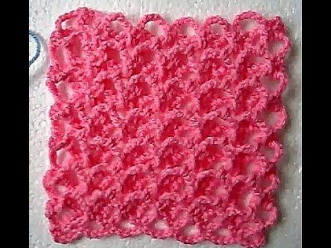 Easy Crochet 3d Baby Blanket All Sizes Tutorial Youtube Crochet Stitches For Blankets Crochet Stitches For Beginners Baby Blanket Crochet Pattern