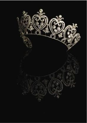 """Tiaras"" V exhibit, London. Cartier, 1903"