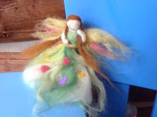 How To Make a Felted Fairy ( Waldorf-Inspired) | Healthy Mama Info