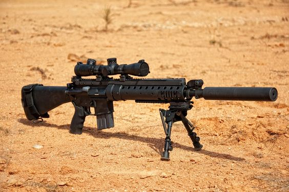 MK12 SPR 5.56 Nato chambered Special Purpose Rifle ...