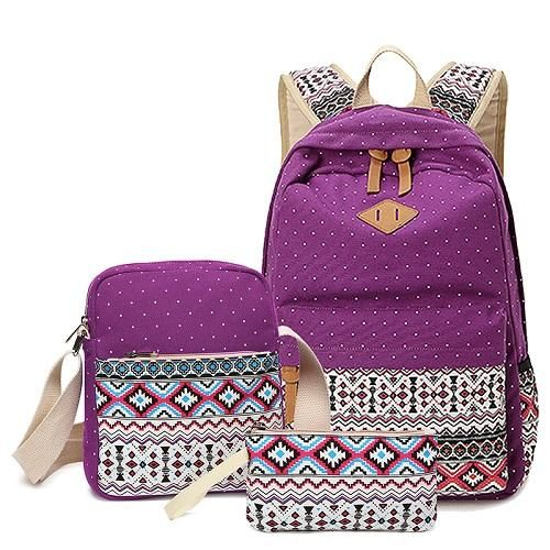 Mochilas Hot Sale Printing Backpack 2017 New Women College