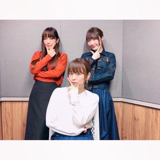 井口裕香さんと日笠陽子さんと日高里菜さん