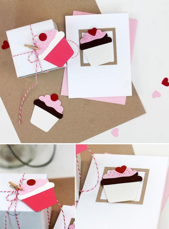 Facile comme dimanche matin: perforateur Cupcakes   damassé Amour