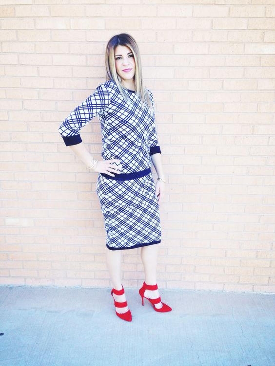 Alice-Anne skirt and the Meredith top