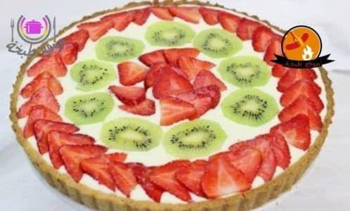طريقة عمل تارت الفواكه موقع طبخة Fruit Tart Baking Sweet Yummy Cheesecake