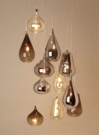 Smoke Nadine Cluster - lighting  - For The Home