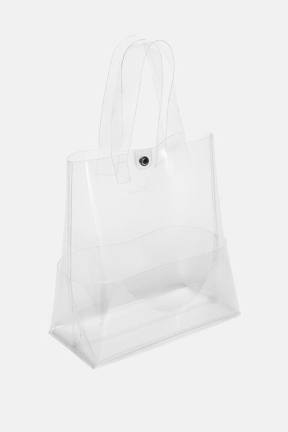 Download Image 3 Of Vinyl Tote Bag From Zara Zara Bags Bags Zara