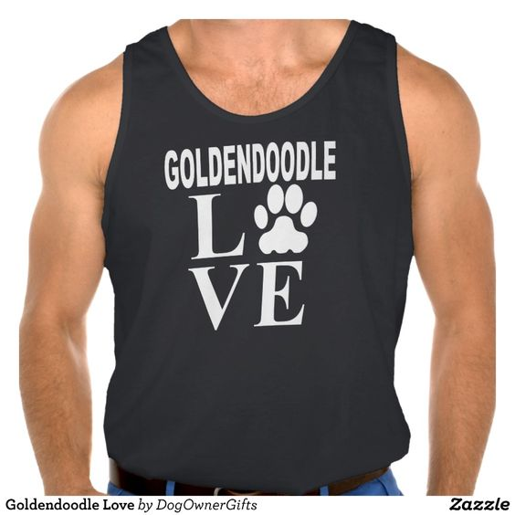 Goldendoodle Love Tanktop Tank Tops
