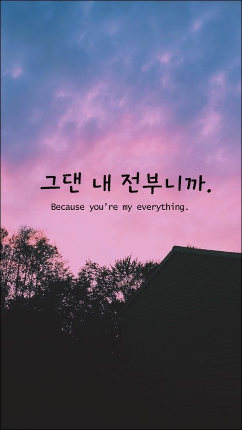 Korean Aesthetic In 2019 Korean Quotes Korean Words