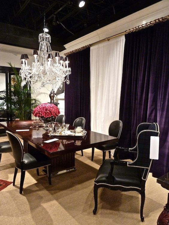 Ej Victor Ralph Lauren Home Collection Dining Room