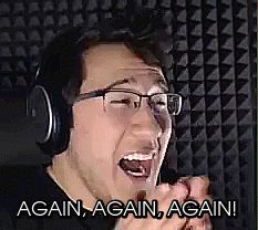 WHEN YOU FINISH YOUR FAVORITE MARKIPLIER VIDEO
