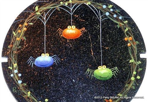 Spiders! Pattern