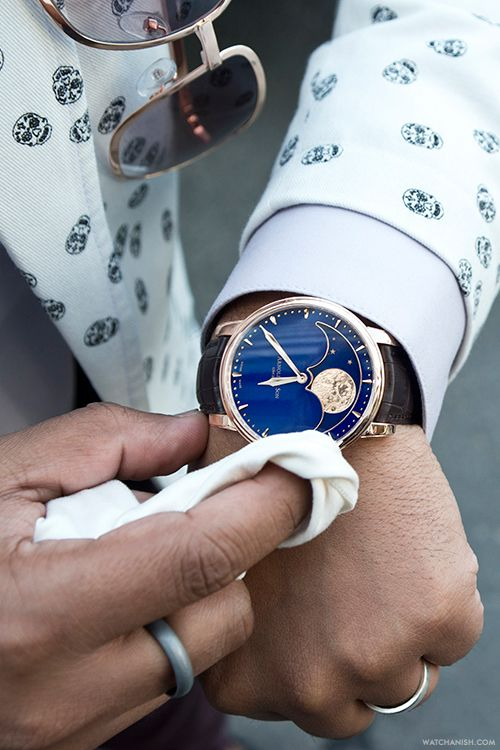 The stunning Arnold  Son Perpetual Moon.More of our footage atWatchAnish.com.