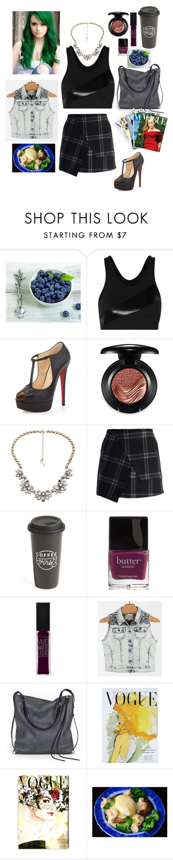 """Boss Ass B!tch"" by disney-geek-forever ❤ liked on Polyvore featuring Vagabond House, Norma Kamali, Christian Louboutin, MAC Cosmetics, Chicwish, The Created Co., Butter London, Maybelline, White Crow and Ina Kent"