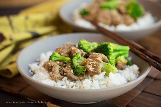 Corina Nielsen- Beef & Broccoli-1